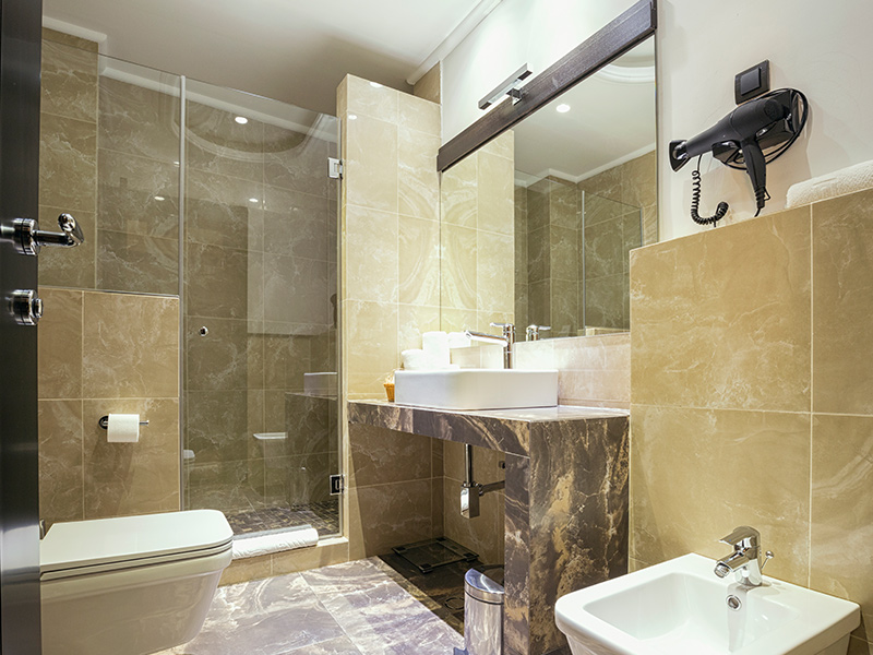Natuurlijk Afgewerkte Badkamer : Badkamers natuursteen stassar natuursteen helmond